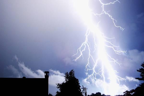 Blitzeinschlag in Wien-Süßenbrunn: Arbeiter schwer verletzt