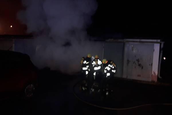 Diemlach Und Kapfenberg Stadt Brandeinsatz In Der Silvesternacht